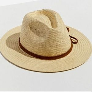 Urban Outfitters Straw Fedora Hat